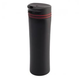 Kubek izotermiczny Lahti 450 ml, czerwony