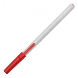 Długopis Clip, czerwony/biały