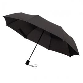 Składany parasol sztormowy Ticino, czarny