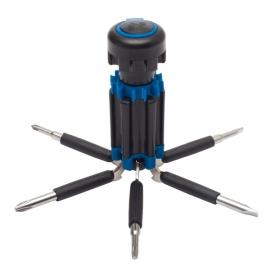 Zestaw narzędzi Magnetic, niebieski/czarny
