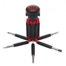 Zestaw narzędzi Magnetic, czerwony/czarny