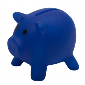 Skarbonka Piglet, niebieski