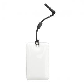 Czyścik do telefonów komórkowych Tidy, biały