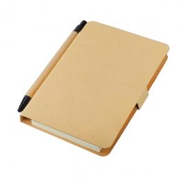 Notatnik Bland 80x140/50k gładki, beżowy