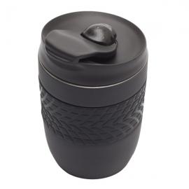 Kubek izotermiczny Offroader 200 ml, czarny