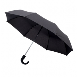 Składany parasol sztormowy Biel, czarny