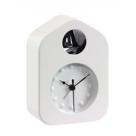 Zegar na biurko, BELL, biały