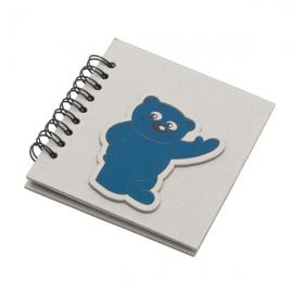Notes 87x97/50k linia Blue Bear, szary/niebieski