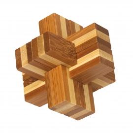 Gra zręcznościowa, drewniana, BEND, brązowy