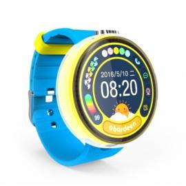 Okrągły smartwatch dziecięcy z GPS