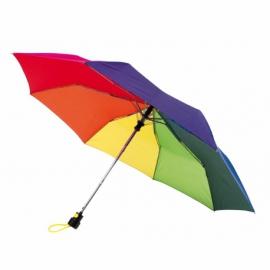 Automatyczny parasol kieszonkowy, PRIMA, wielokolorowy