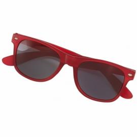 Okulary przeciwsłoneczne POPULAR, czerwony