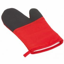 Rękawica grillowa STAY COOL, czerwony, czarny