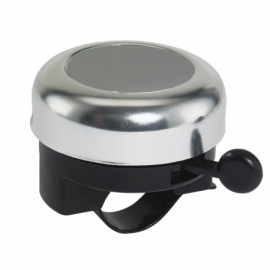 Dzwonek rowerowy NOISY, srebrny