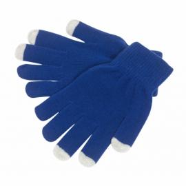 Rękawiczki dotykowe, Operate, niebieskie