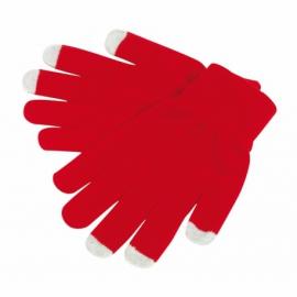 Rękawiczki dotykowe, Operate, czerwone