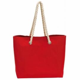 Torba plażowa CAPRI, czerwony