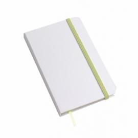Notes AUTHOR, A6, zielony