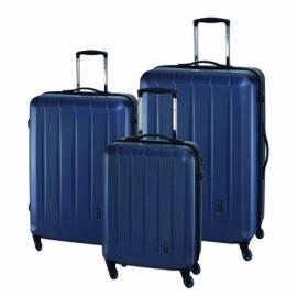 3-częściowy zest. walizek CORK, niebieski