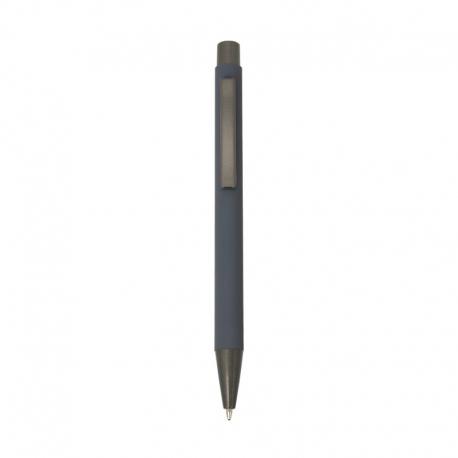 Długopis z gumową powłoką