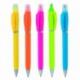 Plastikowy długopis z zakreślaczem 2-w-1 GUARDA