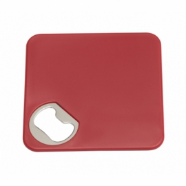 Podkładka z otwieraczem TOGETHER, czerwony