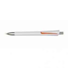 Długopis OREGON, biały/pomarańczowy