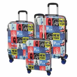 3-częściowy zestaw walizek na kółkach METROPOLITAN