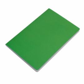 Notatnik 140x210/40k gładki Fundamental, zielony