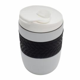 Kubek izotermiczny Offroader 200 ml, złamana biel