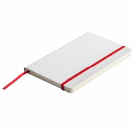 Notatnik Carmona 130/210, czerwony