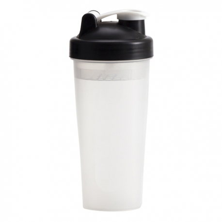 Shaker Muscle Up 600 ml, czarny