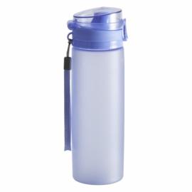 Bidon Brisk 650 ml, niebieski