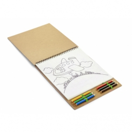 Kolorowanka z notesem