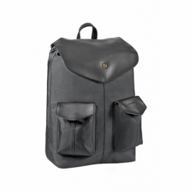"""Plecak na laptop 14"""" z kieszenią na tablet 10"""" z łączonymi szelkami Wenger MarieJo czarny/motyw kwiatowy"""