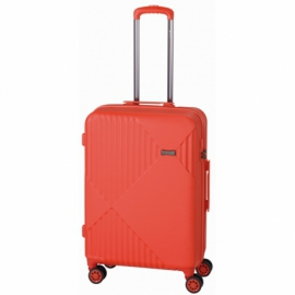 Trzyczęściowy zestaw walizek LIVERPOOL, czerwony