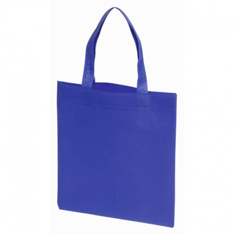 Mała torba na zakupy LITTLE MARKET, niebieski