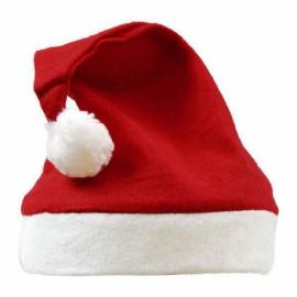 Czapka świąteczna, czerwony/biały
