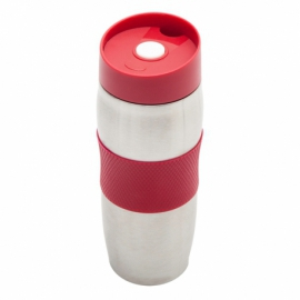 Kubek izotermiczny Harbin 350 ml, czerwony