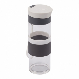 Szklana butelka Top Form 440 ml, biały