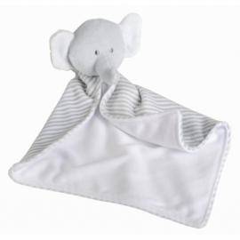 Słoń przytulanka DOMI, szary, biały