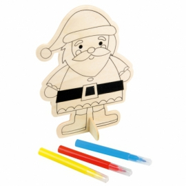 Ozdoby świąteczne ECO COLOUR, Santa