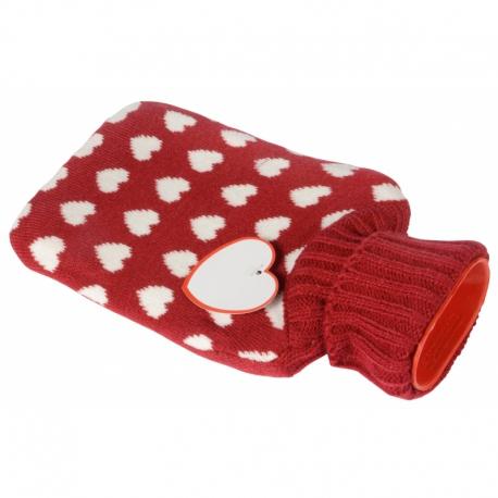 Termofor CUDDLE, czerwony - heart