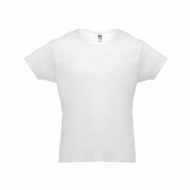 LUANDA. Męski t-shirt S Biały