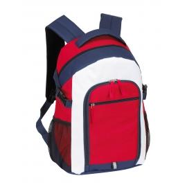 Plecak, MARINA, czerwony/niebieski/biały