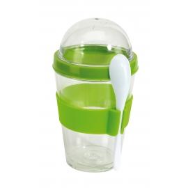 Pojemnik na jogurt i muesli, CEREALS, zielone jabłko