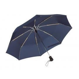 Parasol automatyczny, wiatroodporny, BORA, granatowy