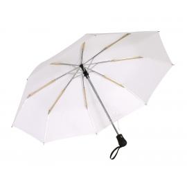 Parasol automatyczny, wiatroodporny, BORA, biały
