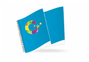 Kalendarze książkowe spiralowe